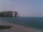 Photo de la falaise d'Etretat